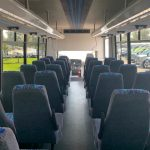 Freightliner M2 36 passenger charter shuttle coach bus for sale - Diesel 4
