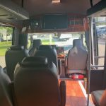 Ford E350 13 passenger charter shuttle coach bus for sale - Gas 7