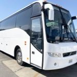 Volvo 54 passenger charter shuttle coach bus for sale - Diesel 1