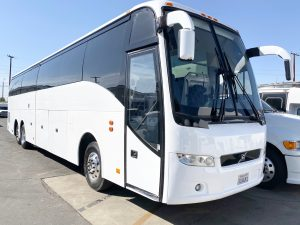 Volvo 54 passenger charter shuttle coach bus for sale - Diesel