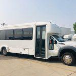 Ford F550 28 passenger charter shuttle coach bus for sale - Diesel 1