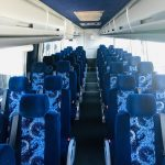 Volvo 54 passenger charter shuttle coach bus for sale - Diesel 5