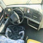 Volvo 54 passenger charter shuttle coach bus for sale - Diesel 8