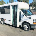 Chevy Express C3500 7 passenger charter shuttle coach bus for sale - Gas 1