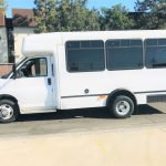 Chevy Express C3500 7 passenger charter shuttle coach bus for sale - Gas 4