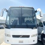 Volvo 54 passenger charter shuttle coach bus for sale - Diesel 4