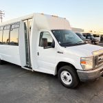 Ford E450 21 passenger charter shuttle coach bus for sale - Gas 1