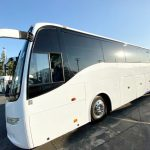 Volvo 54 passenger charter shuttle coach bus for sale - Diesel 2