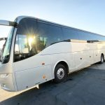 Volvo 54 passenger charter shuttle coach bus for sale - Diesel 3