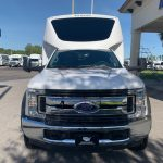 Ford F550 27 passenger charter shuttle coach bus for sale - Gas 1