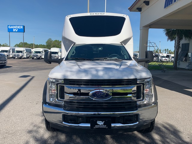 Ford F550 27 passenger charter shuttle coach bus for sale - Gas