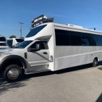 Ford F550 27 passenger charter shuttle coach bus for sale - Gas 2