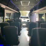 Ford F550 27 passenger charter shuttle coach bus for sale - Gas 6