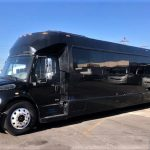 Freightliner M2 49 passenger charter shuttle coach bus for sale - Diesel 2