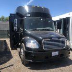 Freightliner M2 49 passenger charter shuttle coach bus for sale - Diesel 7