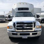 Ford F750 48 passenger charter shuttle coach bus for sale - Diesel 4