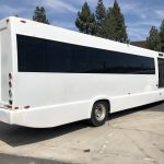 Ford F750 48 passenger charter shuttle coach bus for sale - Diesel 7