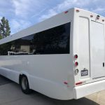 Ford F750 48 passenger charter shuttle coach bus for sale - Diesel 8