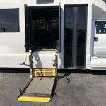 Ford F750 48 passenger charter shuttle coach bus for sale - Diesel 3
