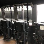 Ford F750 48 passenger charter shuttle coach bus for sale - Diesel 12