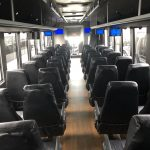 Ford F750 48 passenger charter shuttle coach bus for sale - Diesel 11