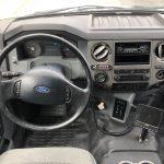 Ford F750 48 passenger charter shuttle coach bus for sale - Diesel 15