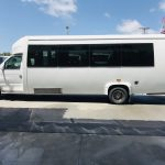 Ford E450 23 passenger charter shuttle coach bus for sale - Gas 8