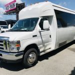 Ford E450 23 passenger charter shuttle coach bus for sale - Gas 9