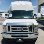 Ford E450 23 passenger charter shuttle coach bus for sale - Gas 10