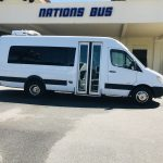 Sprinter 15 passenger charter shuttle coach bus for sale - Diesel 2