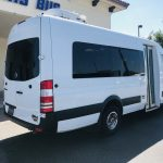 Sprinter 15 passenger charter shuttle coach bus for sale - Diesel 3