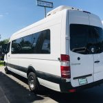 Sprinter 15 passenger charter shuttle coach bus for sale - Diesel 4