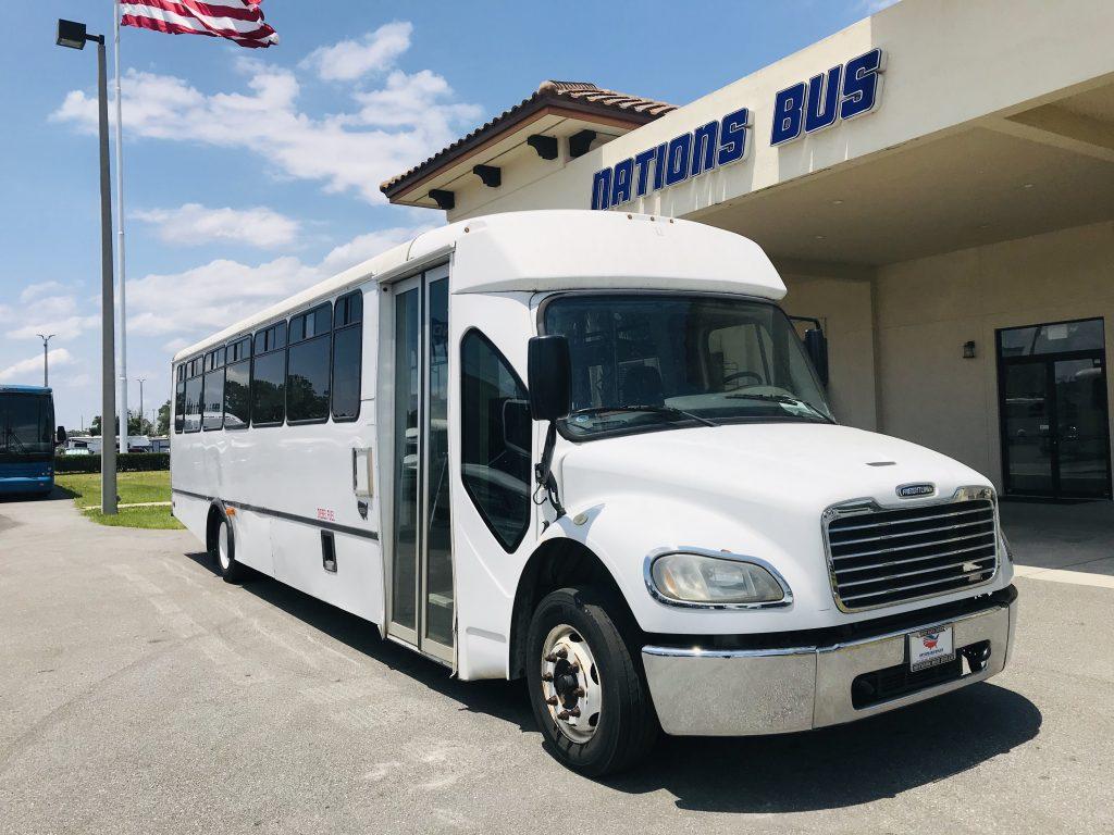 Freightliner 39 passenger charter shuttle coach bus for sale - Diesel
