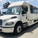 Freightliner 39 passenger charter shuttle coach bus for sale - Diesel 7