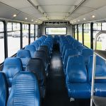 Freightliner 39 passenger charter shuttle coach bus for sale - Diesel 9