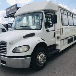 Freightliner 39 passenger charter shuttle coach bus for sale - Diesel 7