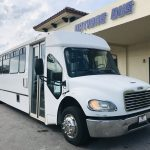 Freightliner 39 passenger charter shuttle coach bus for sale - Diesel 1