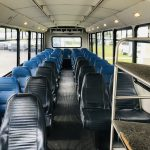 Freightliner 39 passenger charter shuttle coach bus for sale - Diesel 9