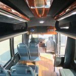 Ford E350  13 passenger charter shuttle coach bus for sale - Gas 11