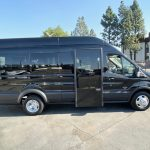 Ford Transit 13 passenger charter shuttle coach bus for sale - Gas 2