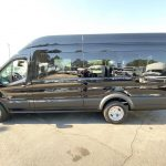 Ford Transit 13 passenger charter shuttle coach bus for sale - Gas 3