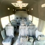 Ford Transit 13 passenger charter shuttle coach bus for sale - Gas 5