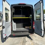 Ford Transit 13 passenger charter shuttle coach bus for sale - Gas 8