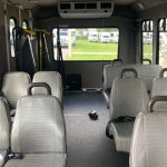 Ford E350 10 passenger charter shuttle coach bus for sale - Gas 7