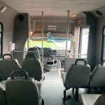 Ford E350 10 passenger charter shuttle coach bus for sale - Gas 8