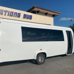 Ford E450 23 passenger charter shuttle coach bus for sale - Gas 4
