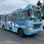 Chevy Workhorse 21 passenger charter shuttle coach bus for sale - CNG 1