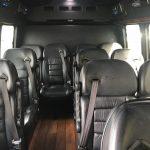 Ford E350 13 passenger charter shuttle coach bus for sale - Gas 6
