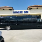 Freightliner M2 39 passenger charter shuttle coach bus for sale - Diesel 2
