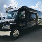 Freightliner M2 39 passenger charter shuttle coach bus for sale - Diesel 7
